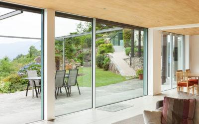 Porte finestre scorrevoli: una scelta di stile